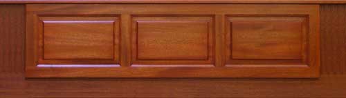 Soild Mahogany Bath Panel