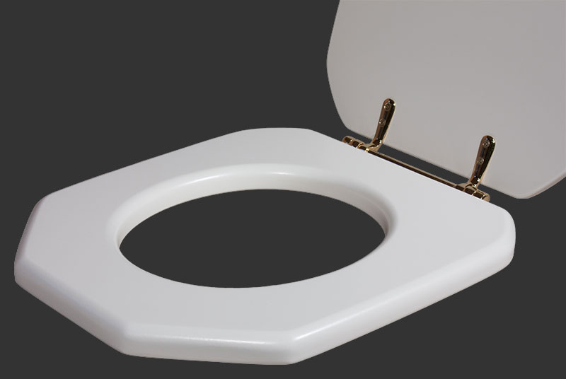 Pinewood Joiners Qualitas Fifth Avenue Solid Wooden Loo Toilet Seat Toilet