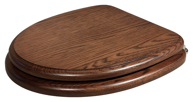 Pinewood Joiners Twyford Jupiter Solid Wooden Toilet Loo Seat Toilet Cover
